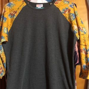NWOT Size M Disney Randy 3/4 sleeve T